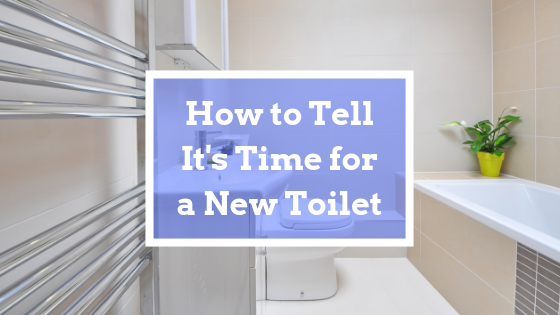 time for new toilet