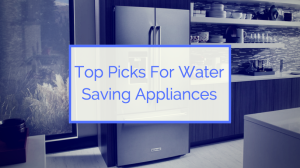 water saving appliances