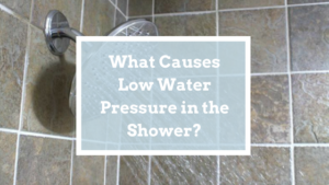 low pressure shower