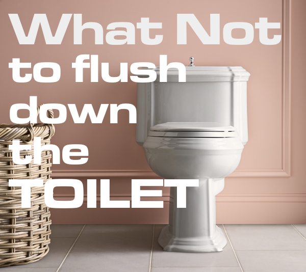 15 things you should never flush down the toilet | Ben Franklin