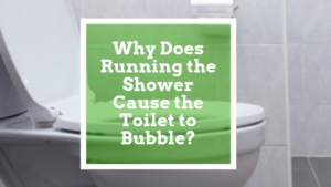 Why Does Running the Shower Cause the Toilet to Bubble?